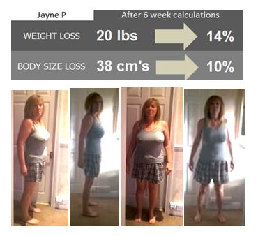 jayne lost 20lbs with diet and exercise drop a dress size weight loss
